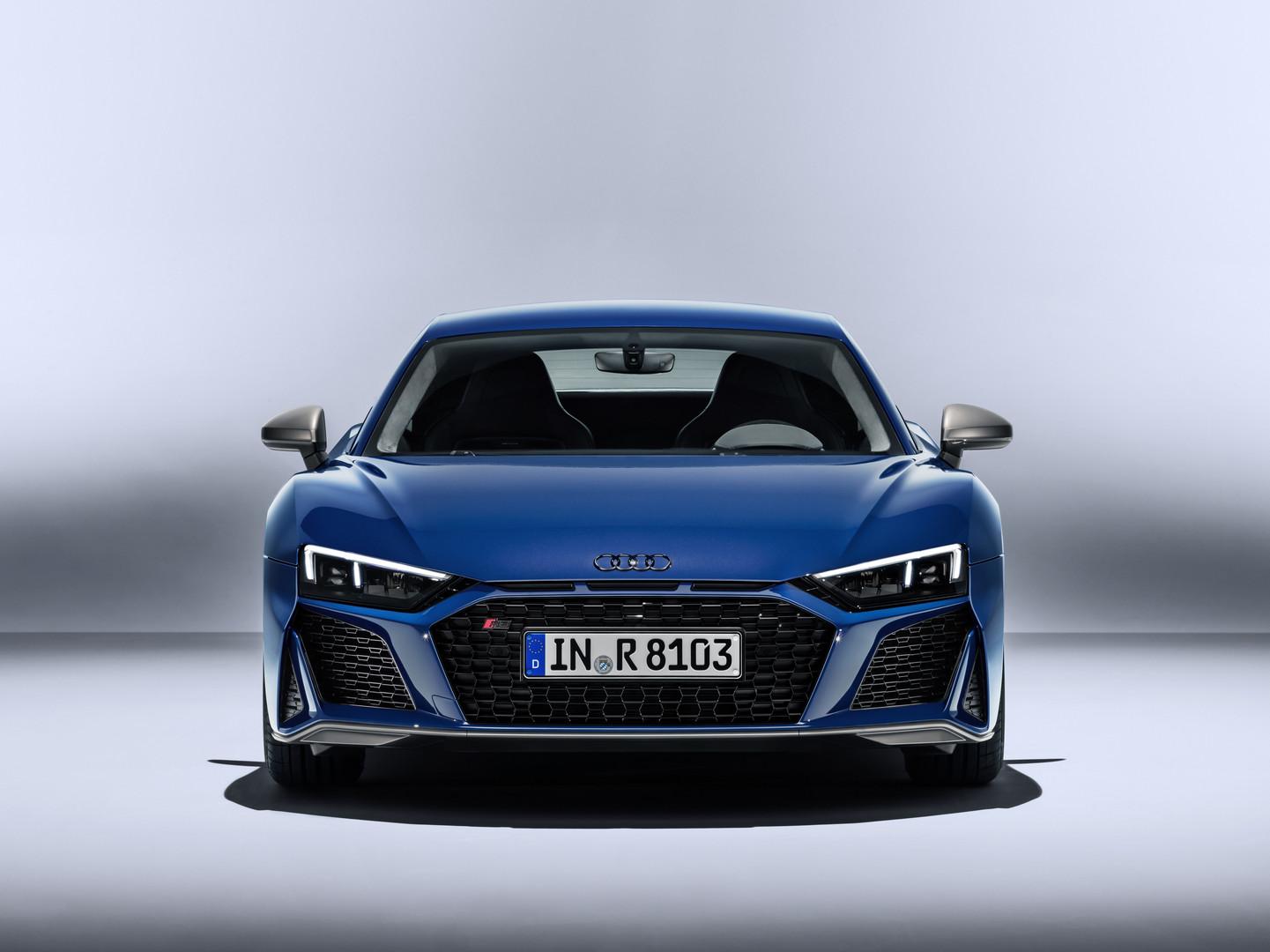 2019 Audi R8 Facelift Revealed Gtspirit