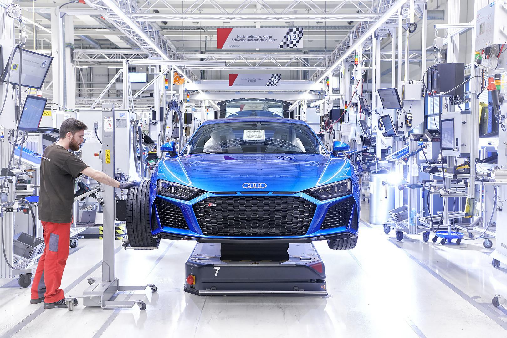 2019 Audi R8 V10 Performance