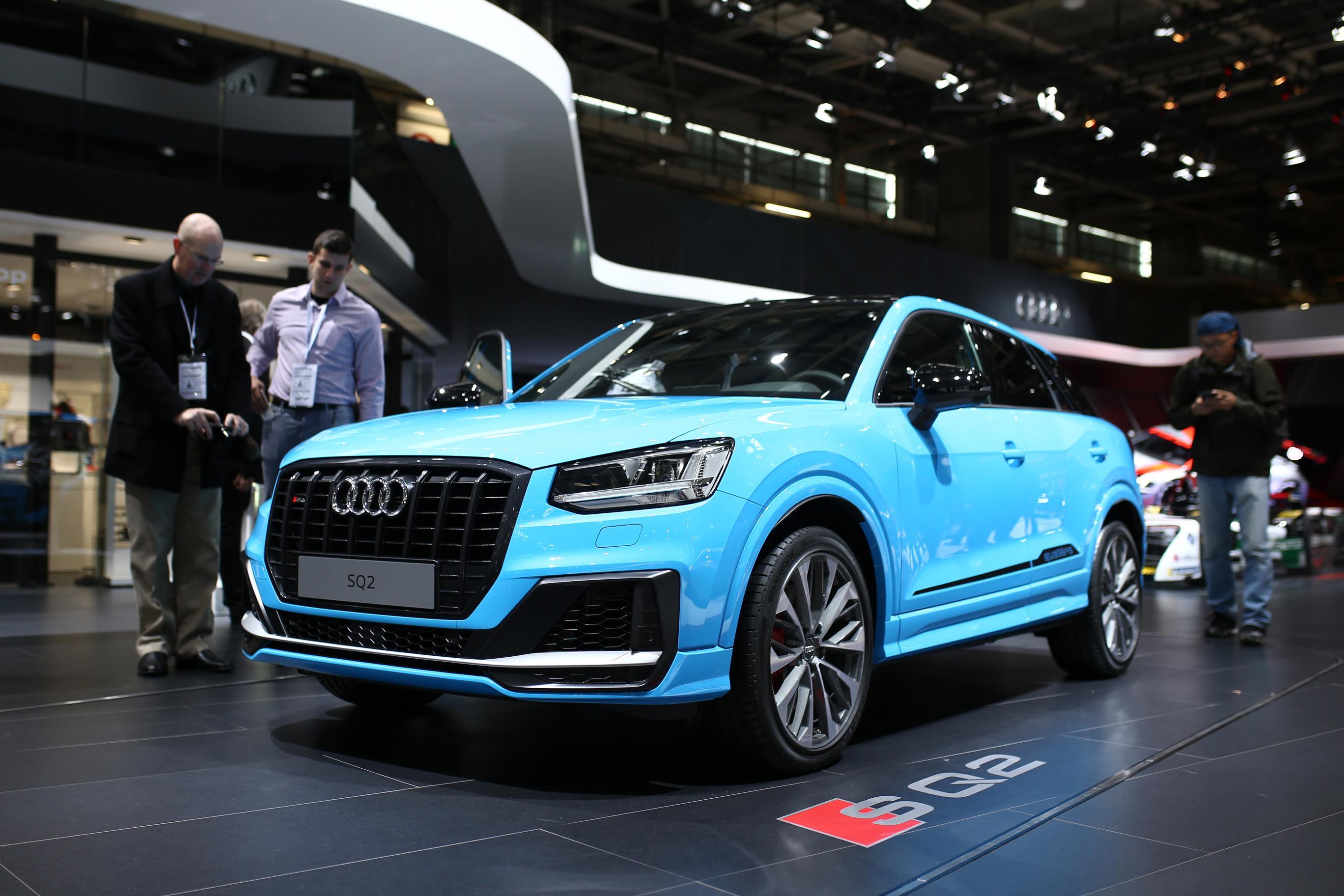 2019 Audi SQ2 - Paris Motor Show