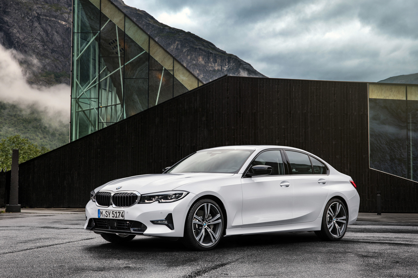 2019 BMW 3 Series G20 Front