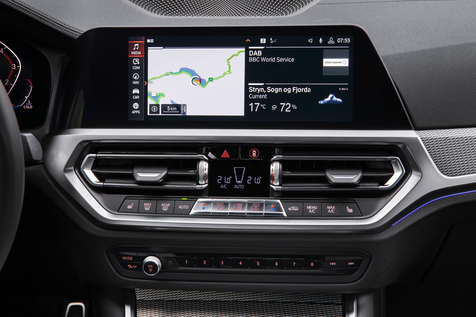 2019 BMW 3 Series G20 Interior