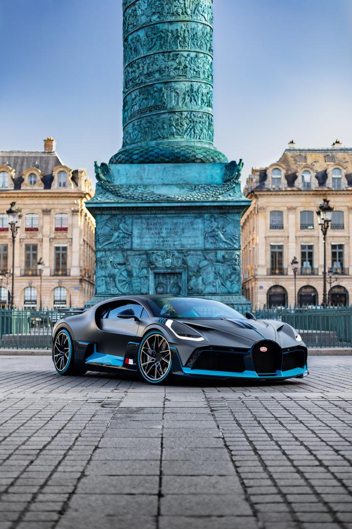 Bugatti Divo in Paris