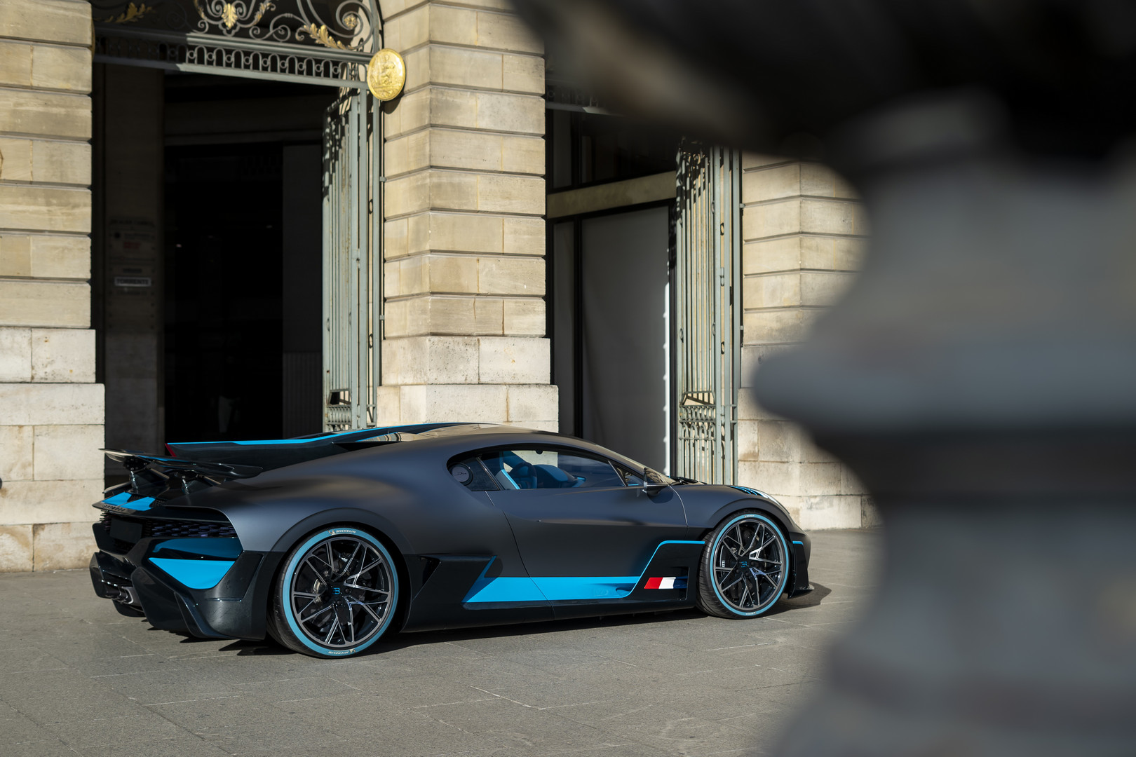 Bugatti Divo Rear Quarter View