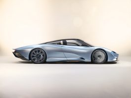 McLaren Speedtail Side View