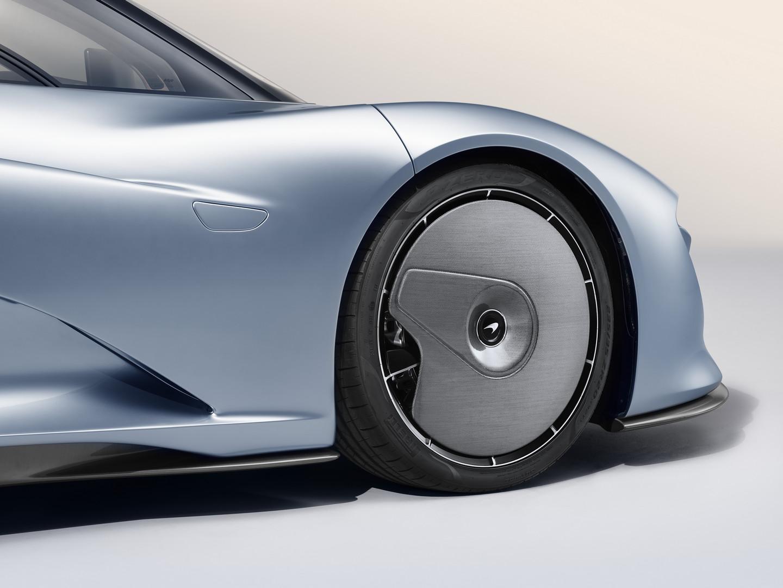 McLaren Speedtail Static Aero Wheel Covers