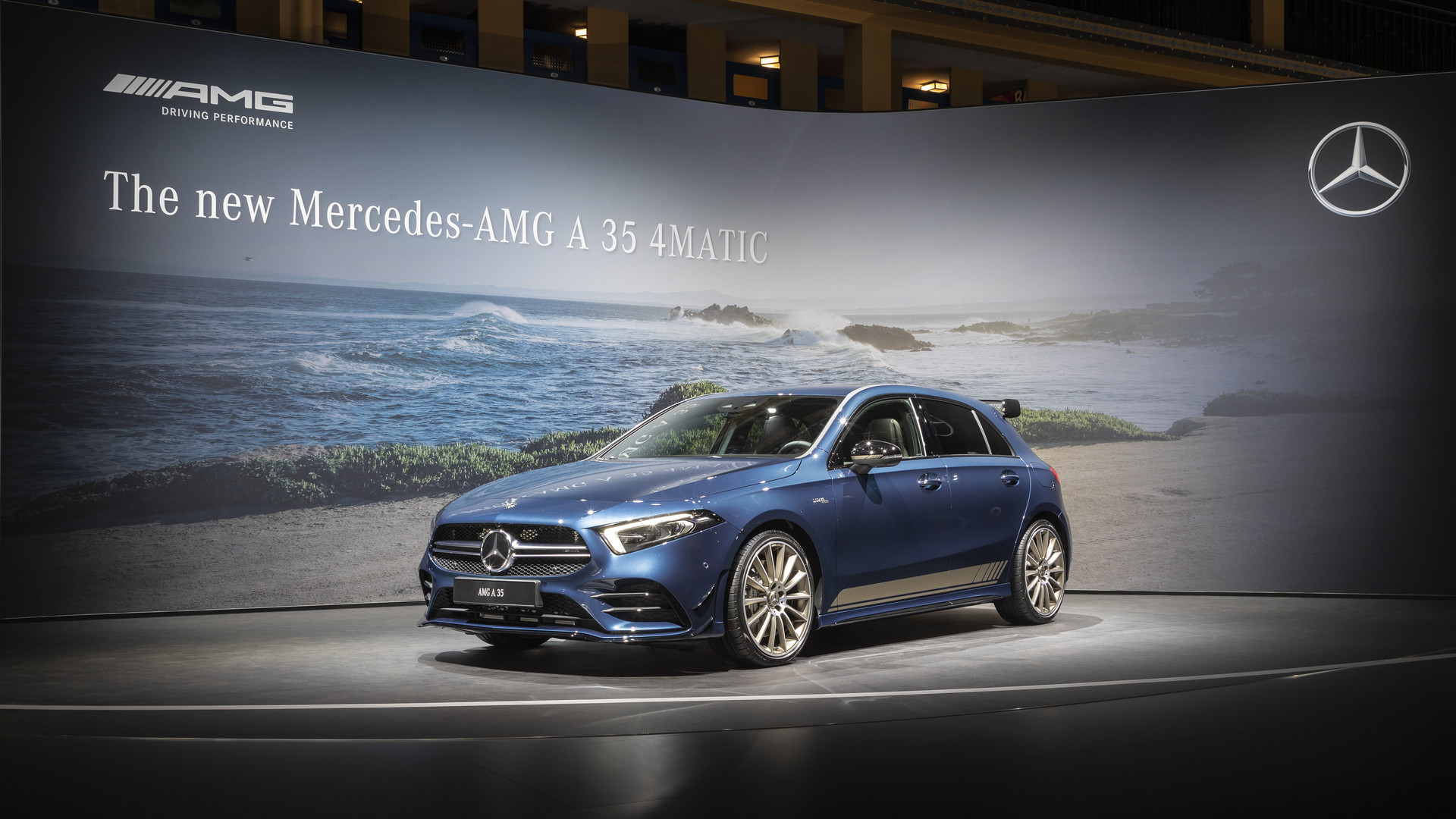 2019 Mercedes-AMG A35 Front View