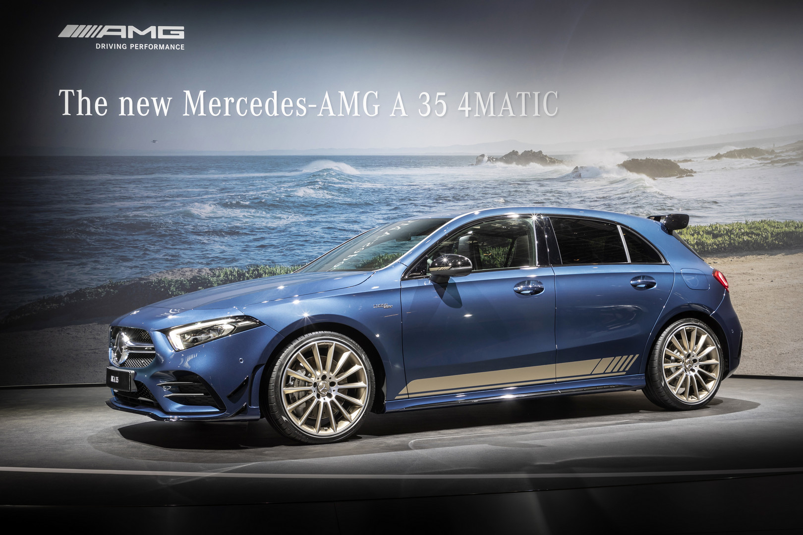2019 Mercedes-AMG A35 Side View
