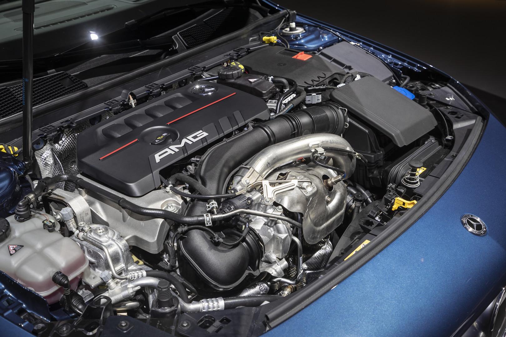 2019 Mercedes-AMG A35 Engine