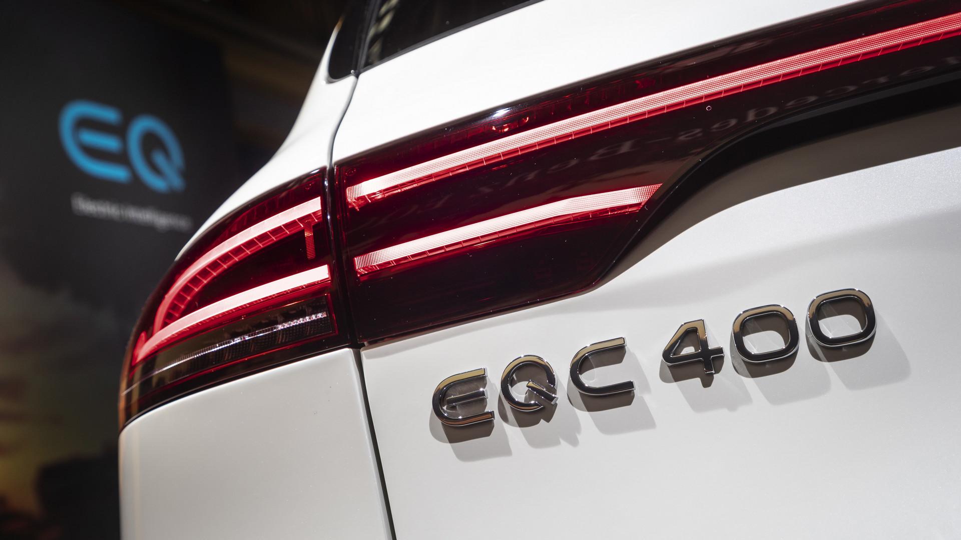 2019 Mercedes-Benz EQC 400