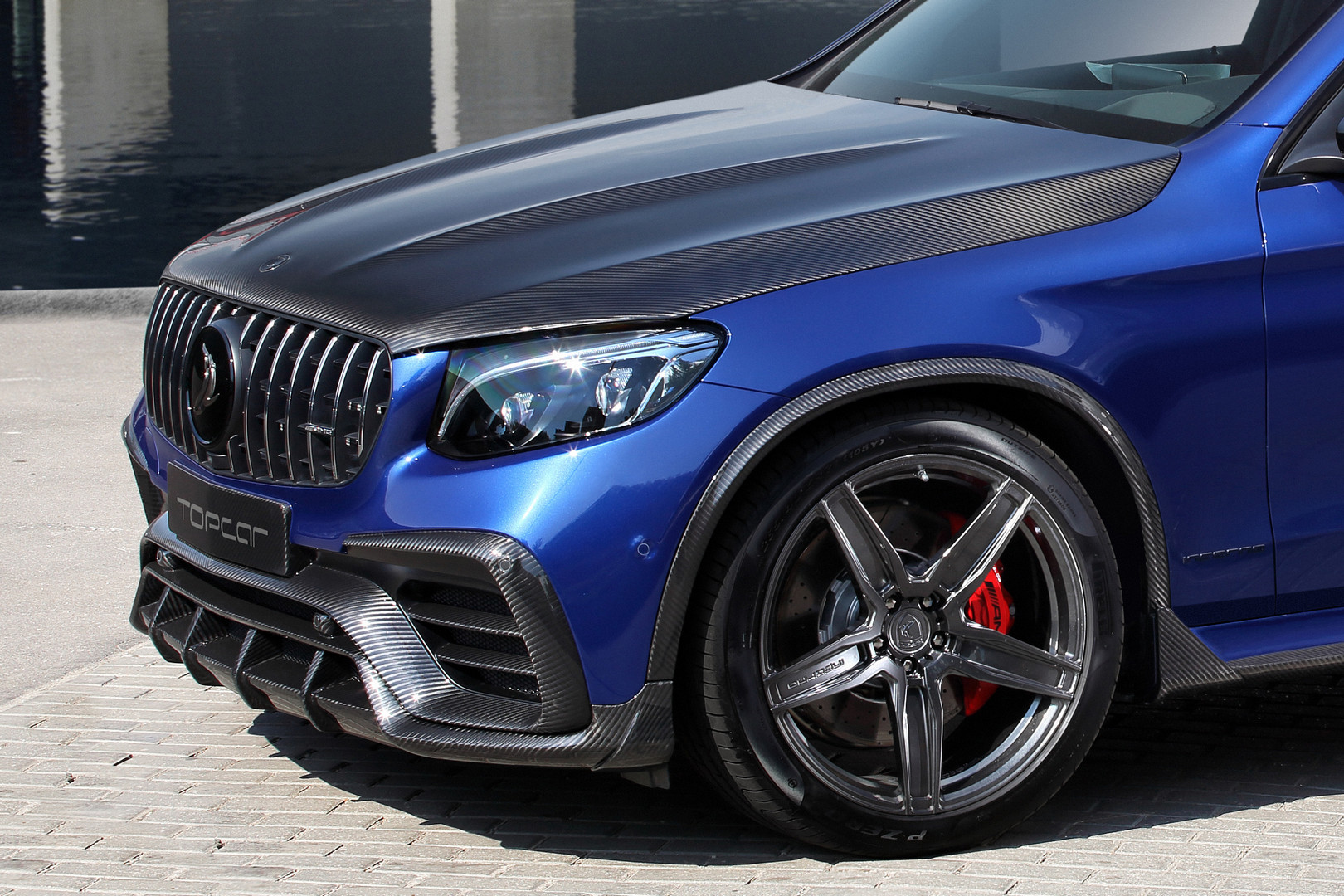 TopCar Mercedes-Benz GLC Coupe INFERNO