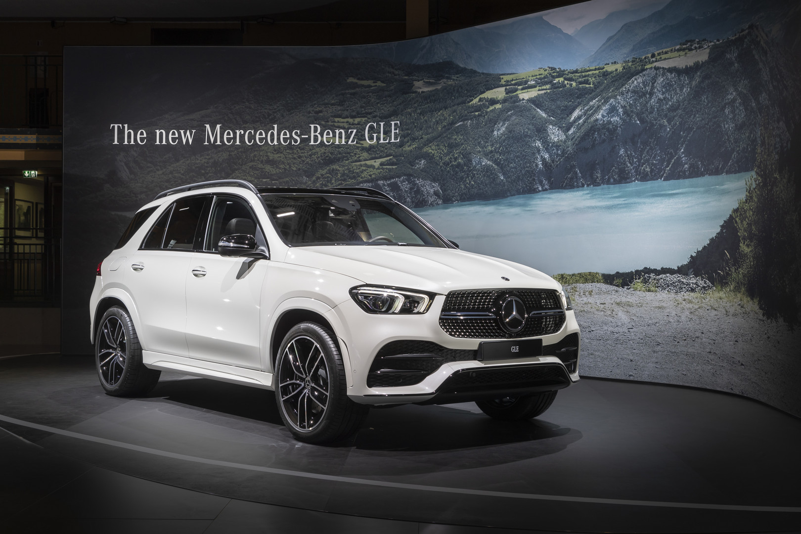 2019 Mercedes-Benz GLE 450 - Front View