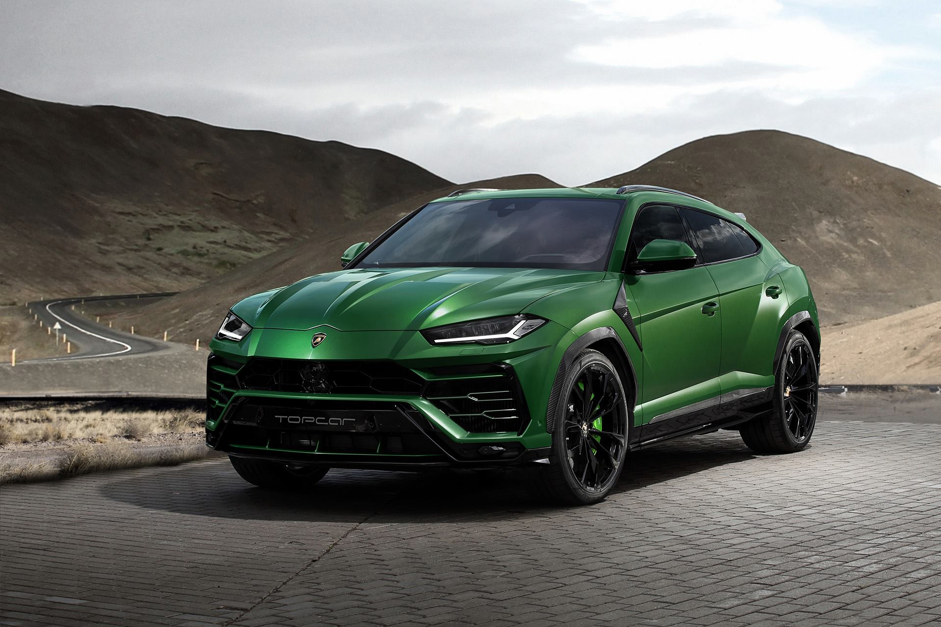 Topcar Lamborghini Urus Revealed With Military Green Paint And Camo