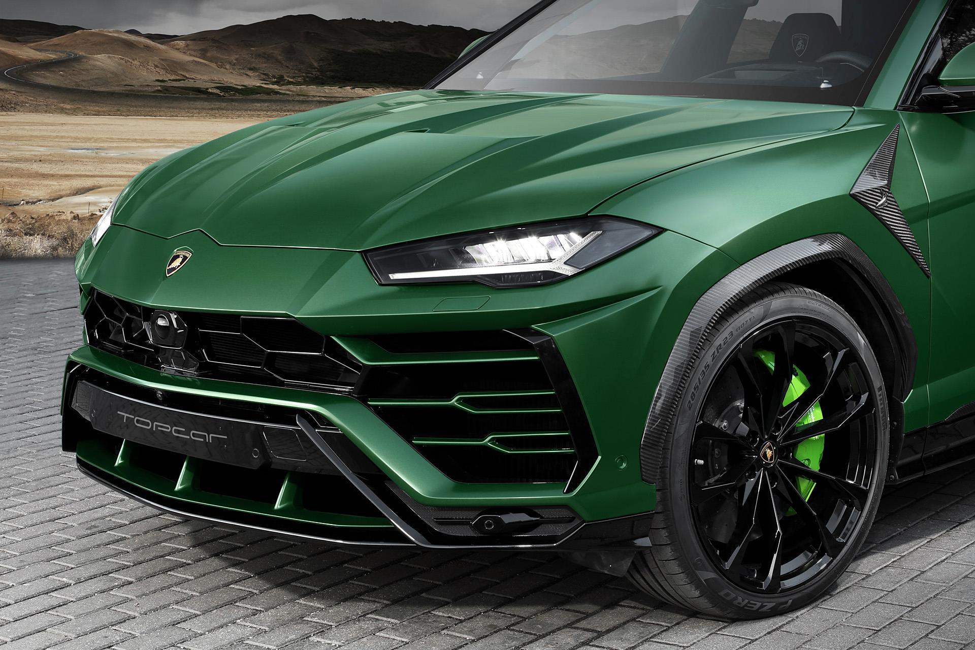 Military Green Lamborghini Urus (1)