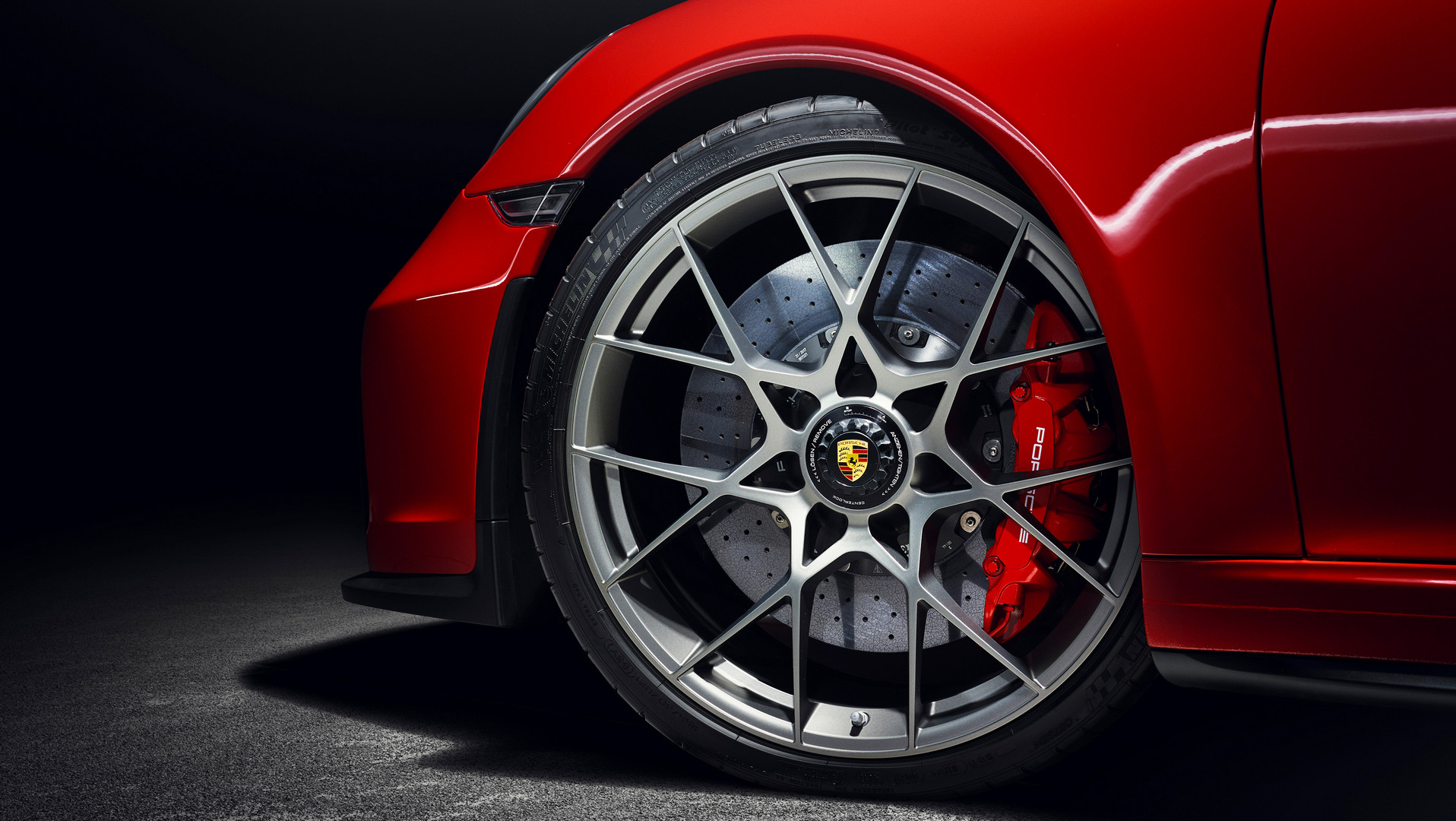 Porsche 991 Speedster Guards Wheels