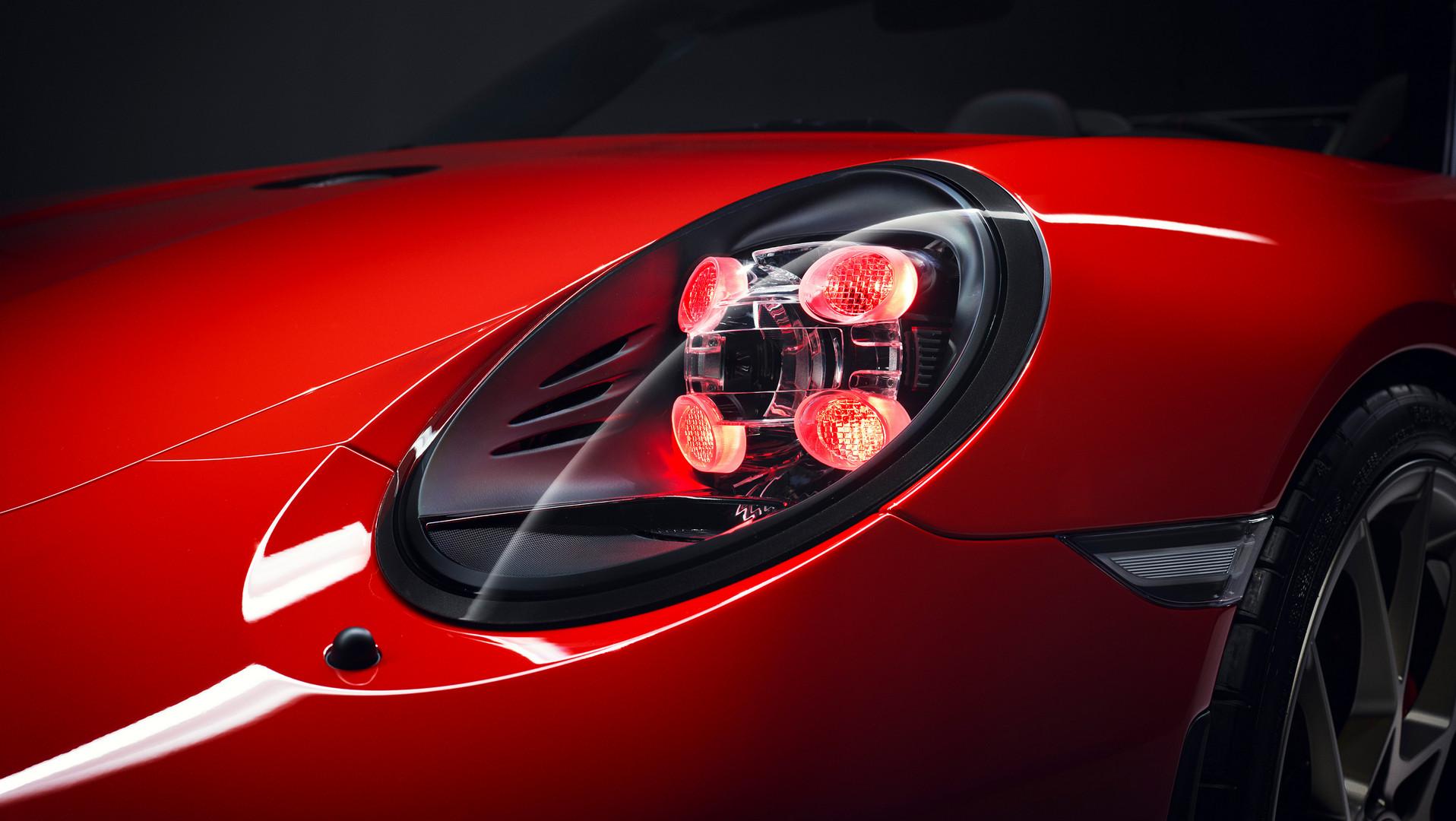 Porsche 991 Speedster Guards Headlight