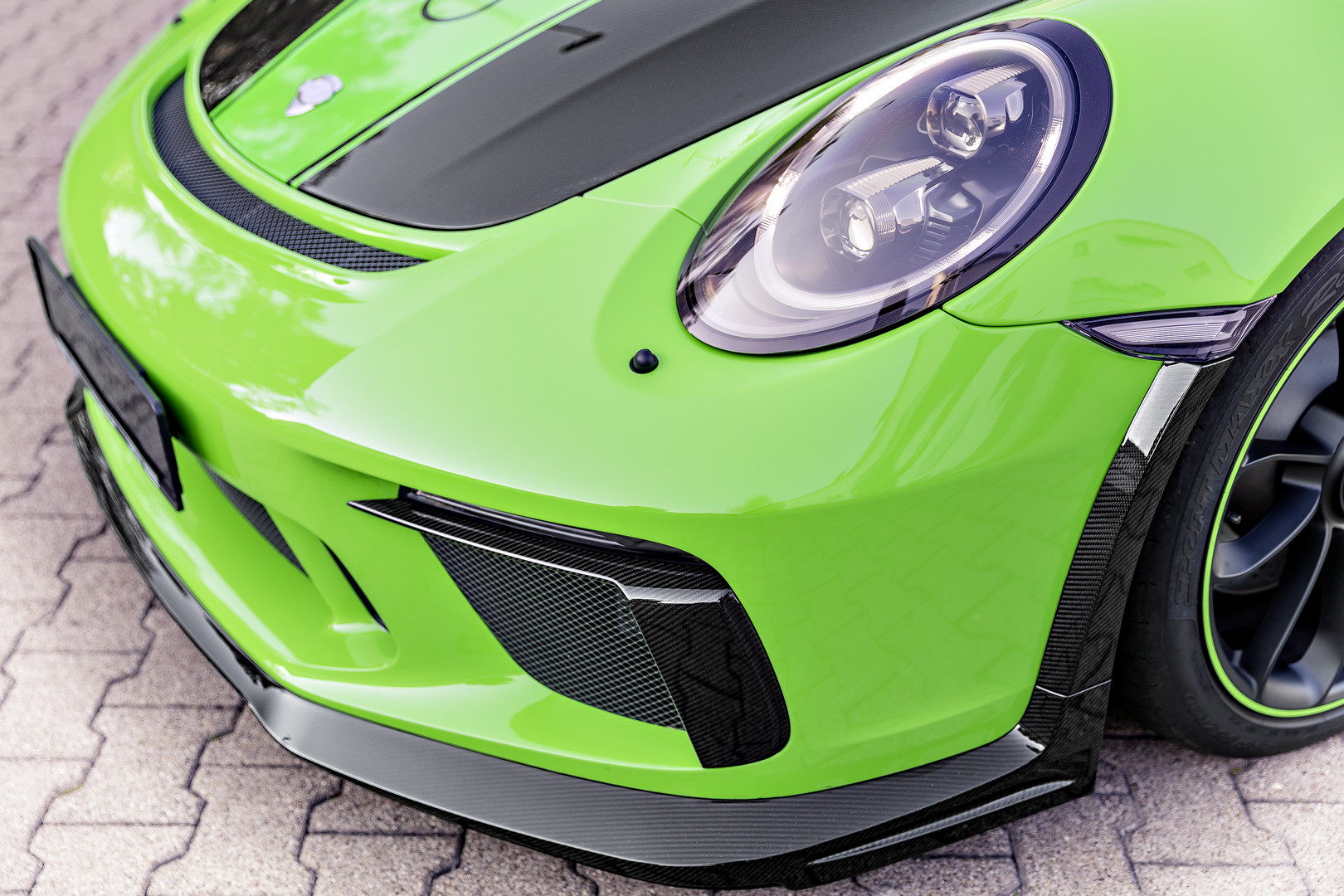 Techart GT3 RS Headlight