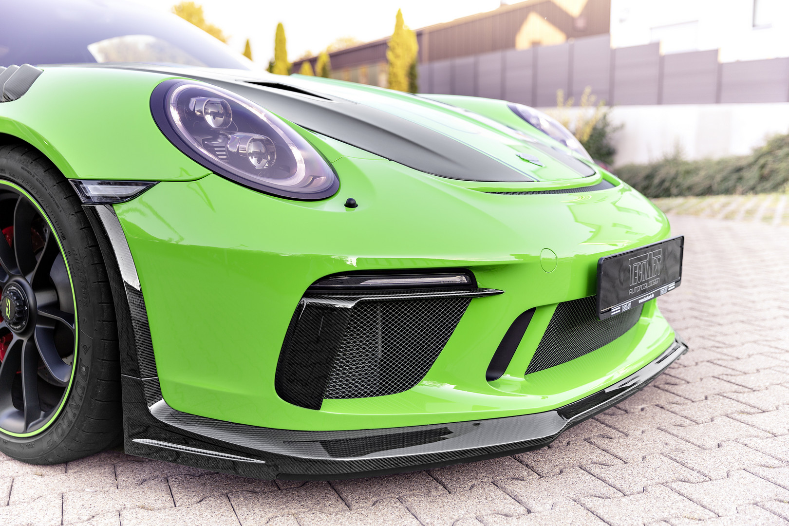 Techart GT3 RS Front Bumper
