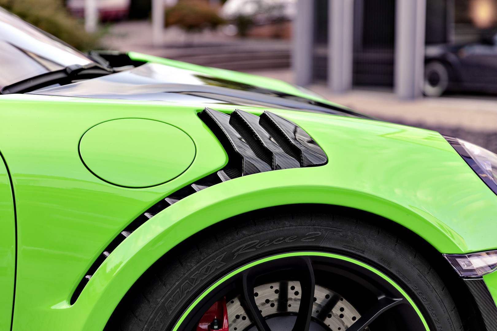 Techart GT3 RS Arc Louvers