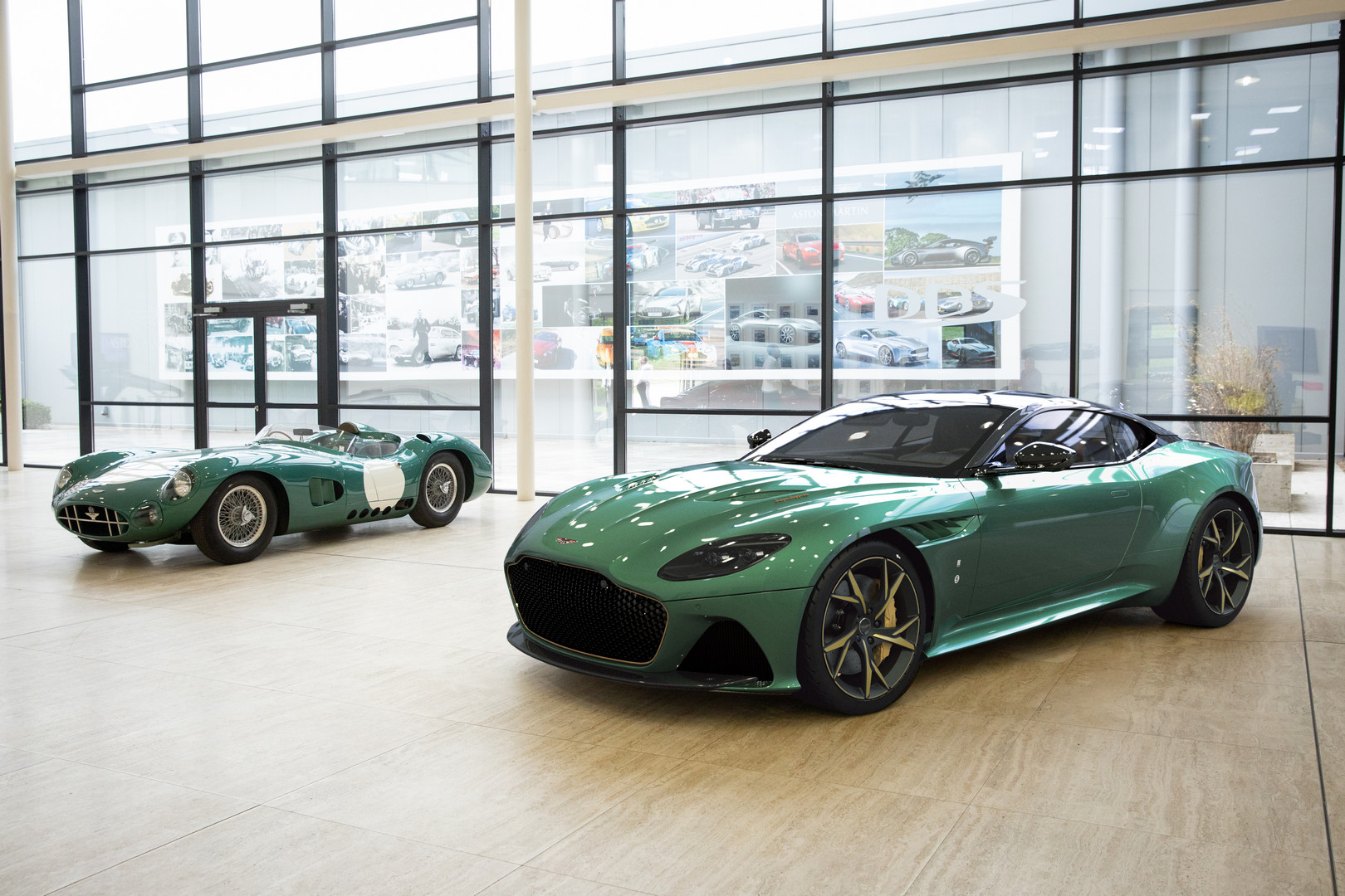 Aston Martin Dbs Superleggera 59 Revealed To Honor Dbr1 Le