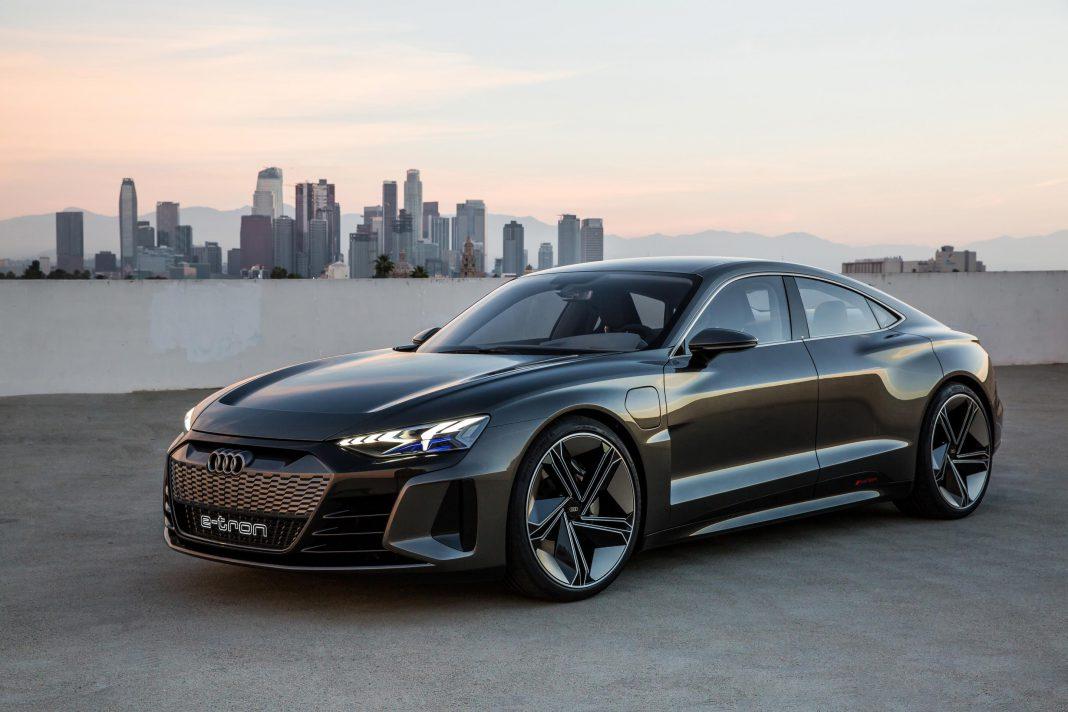 2020 Audi e-tron GT Concept