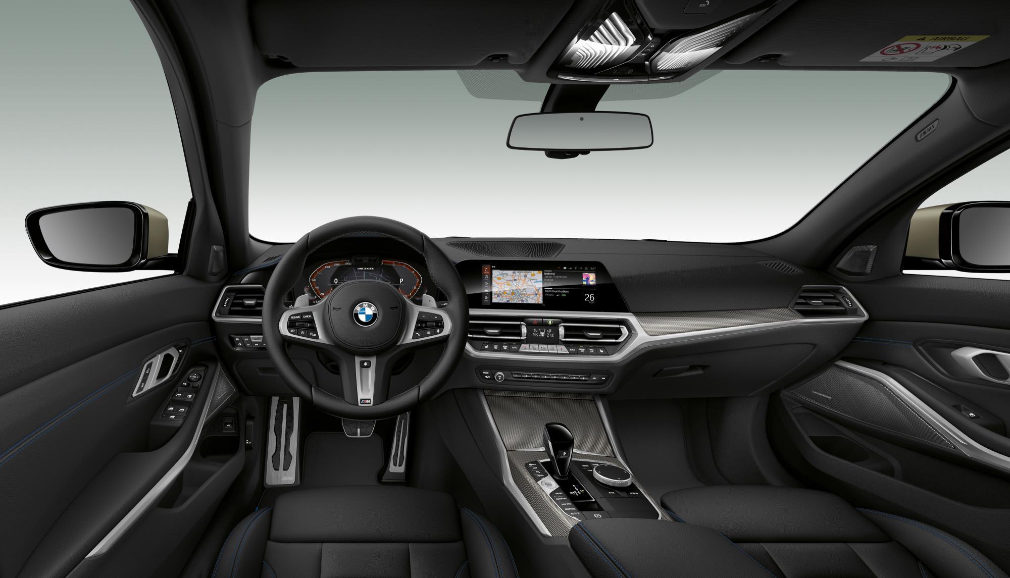 BMW M340i xDrive Interior
