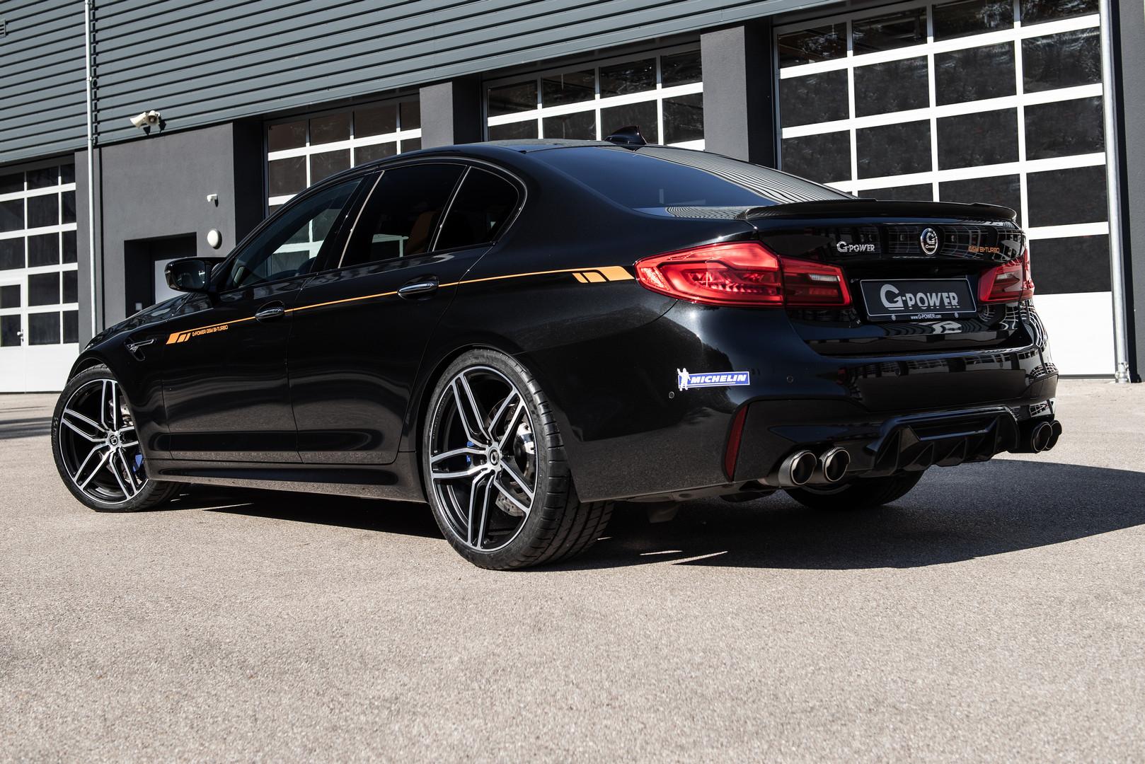 G-Power Unleashes 800hp BMW F90 M5 - GTspirit