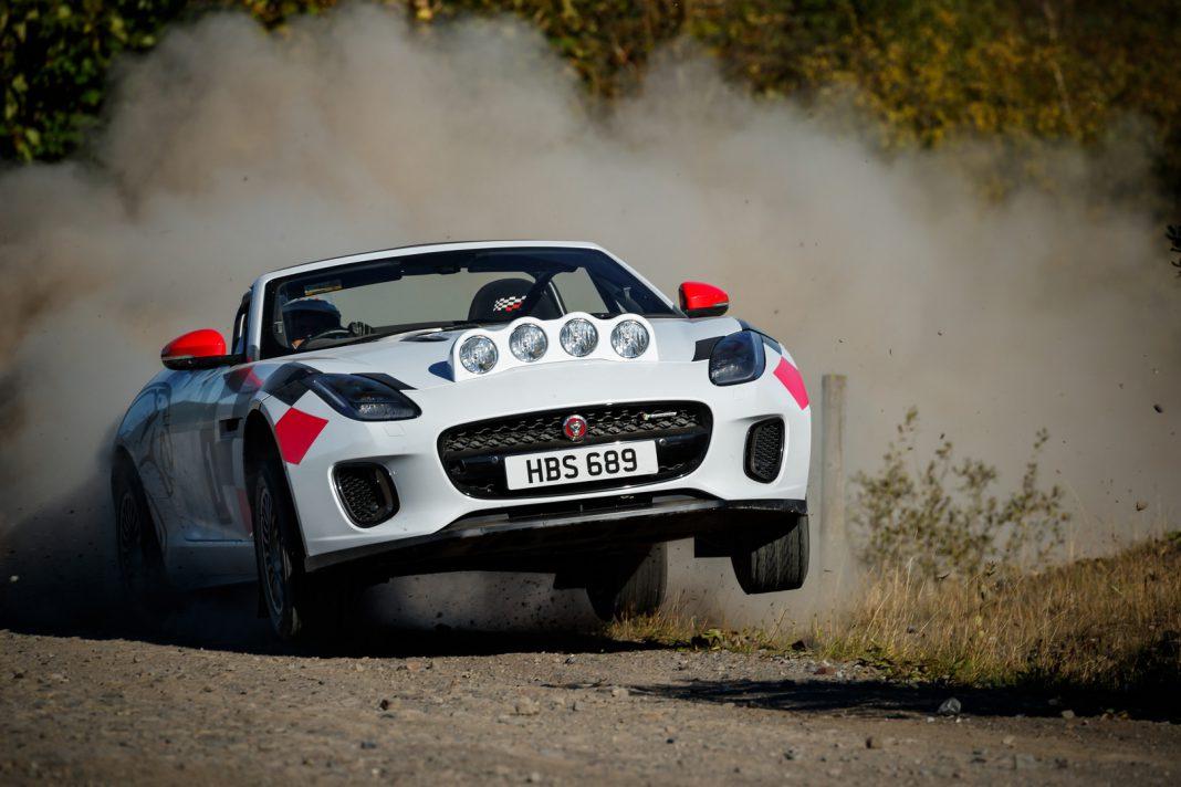 Jaguar F-Type Rally Car
