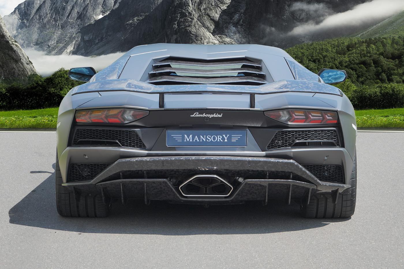 Mansory Lamborghini Aventador S Revealed Gtspirit