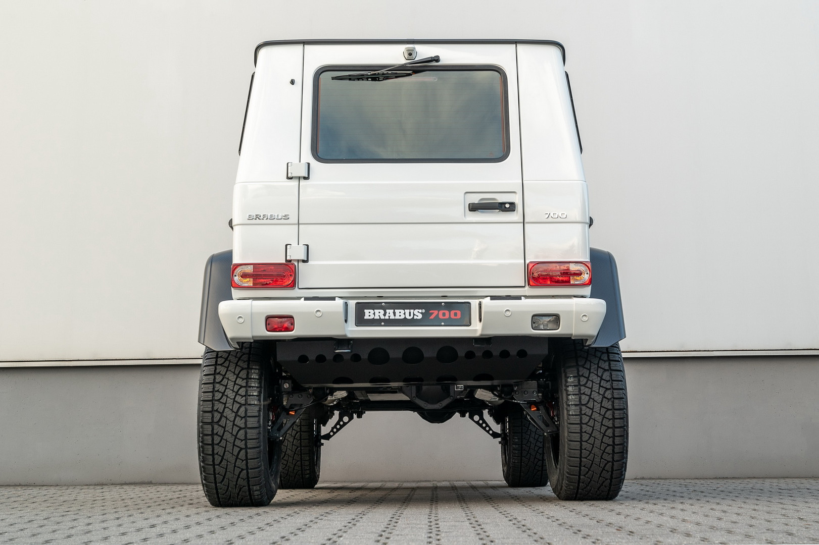 Brabus 700 4x4² Rear