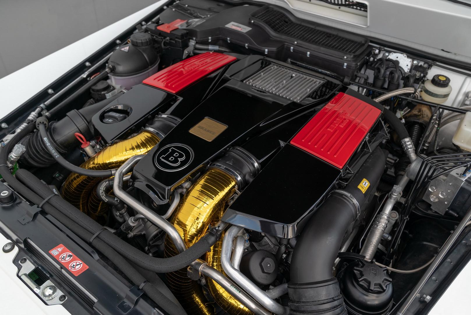 Brabus 700 4x4² Engine
