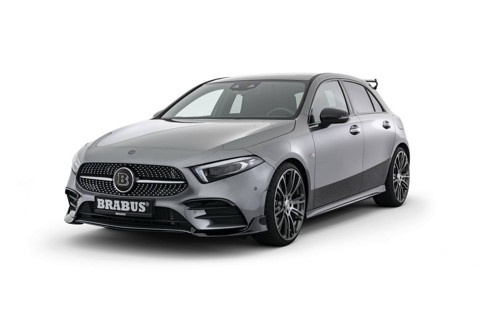 brabus mercedes benz a class revealed gtspirit. Black Bedroom Furniture Sets. Home Design Ideas