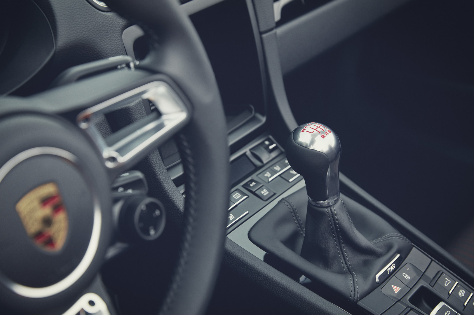 Porsche 718 Boxster T Manual Gearbox