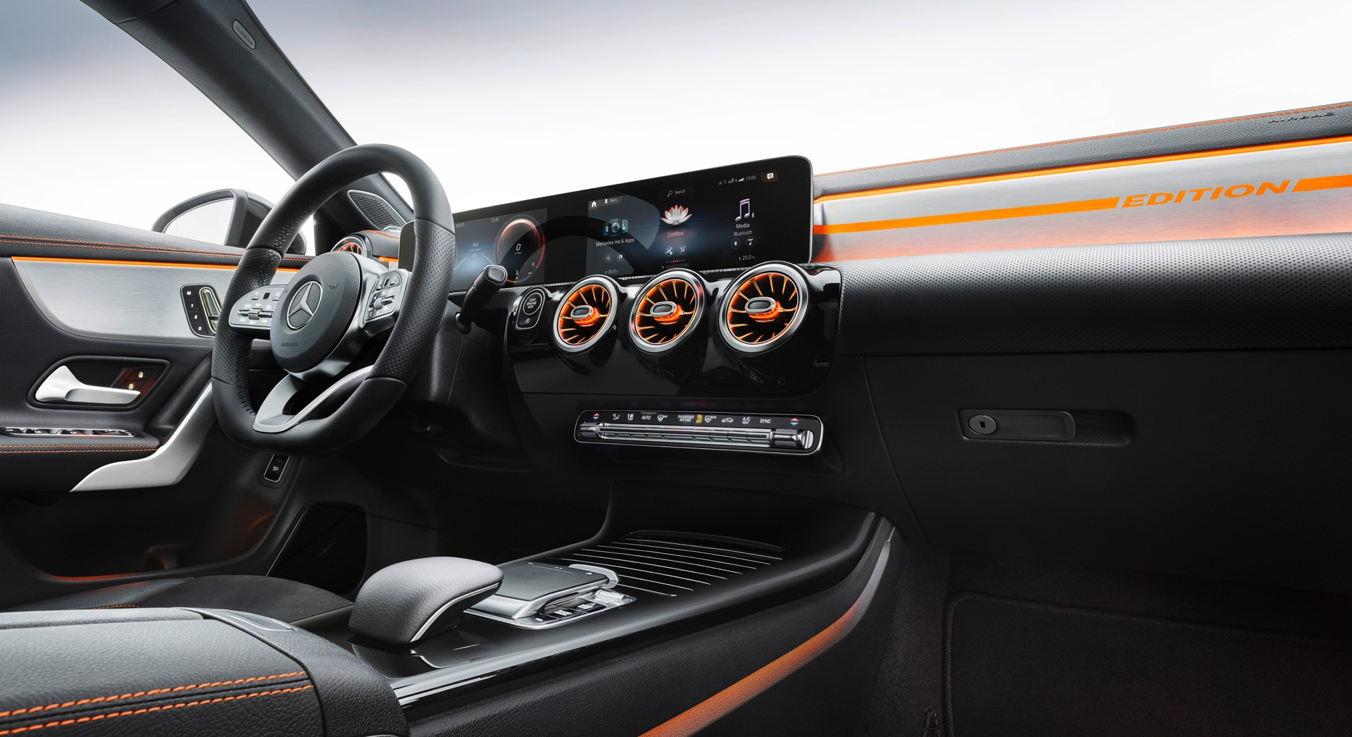 2019 Mercedes-Benz CLA Class Centre Console