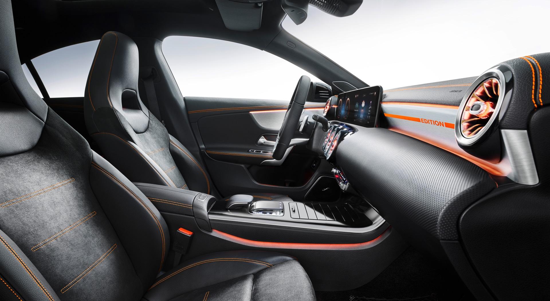 2019 Mercedes-Benz CLA Class Seats