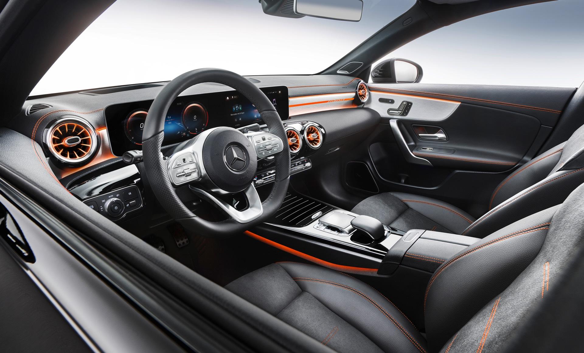2019 Mercedes-Benz CLA Class Drivers Seat