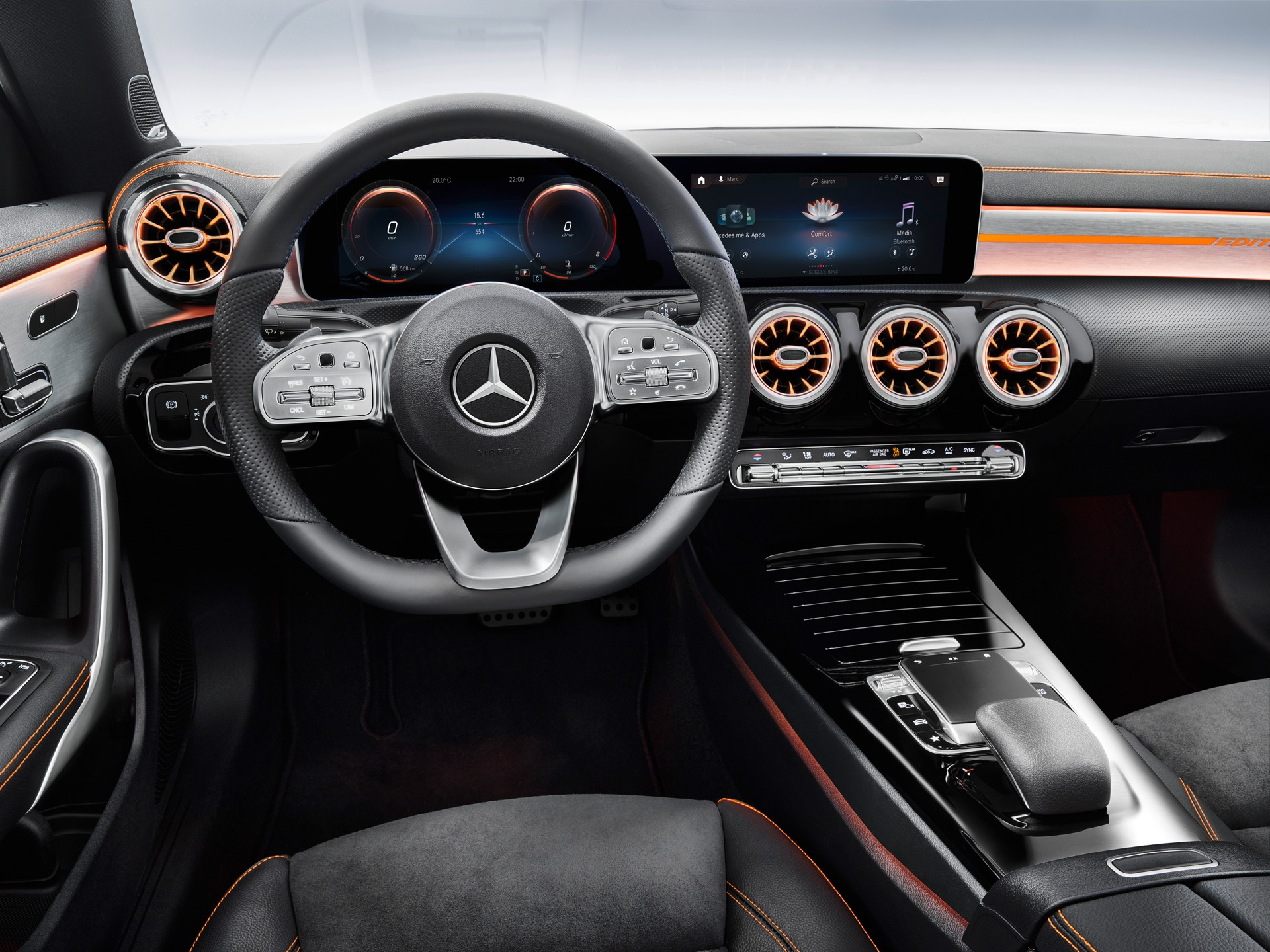 2019 Mercedes-Benz CLA Class Dash Board
