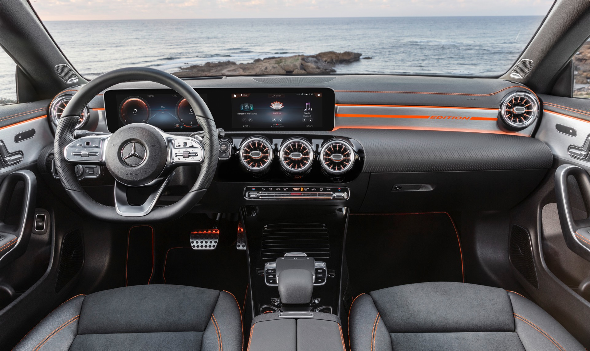 New Mercedes-Benz CLA Class Interior