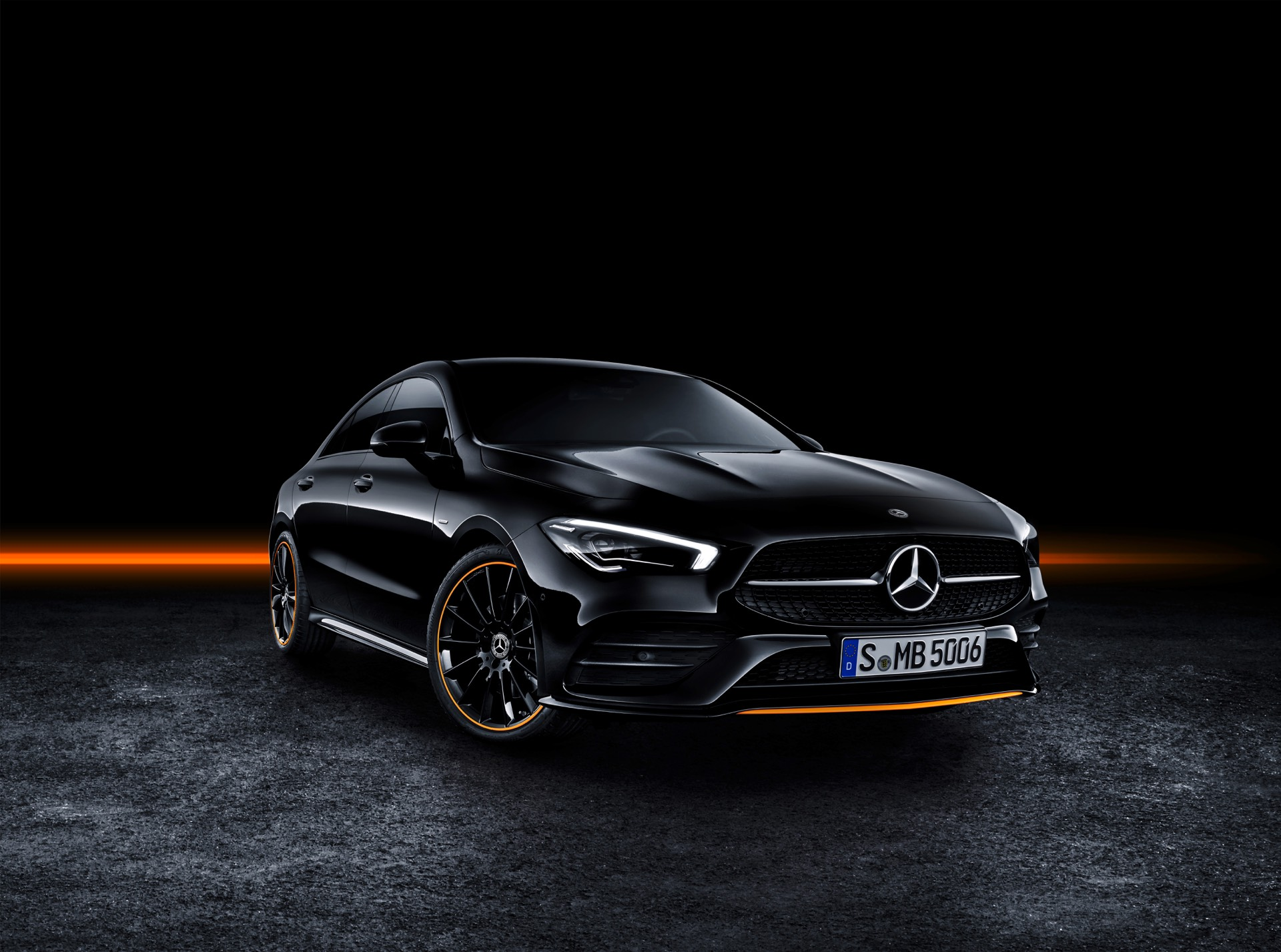 2019 Mercedes-Benz CLA Class Front