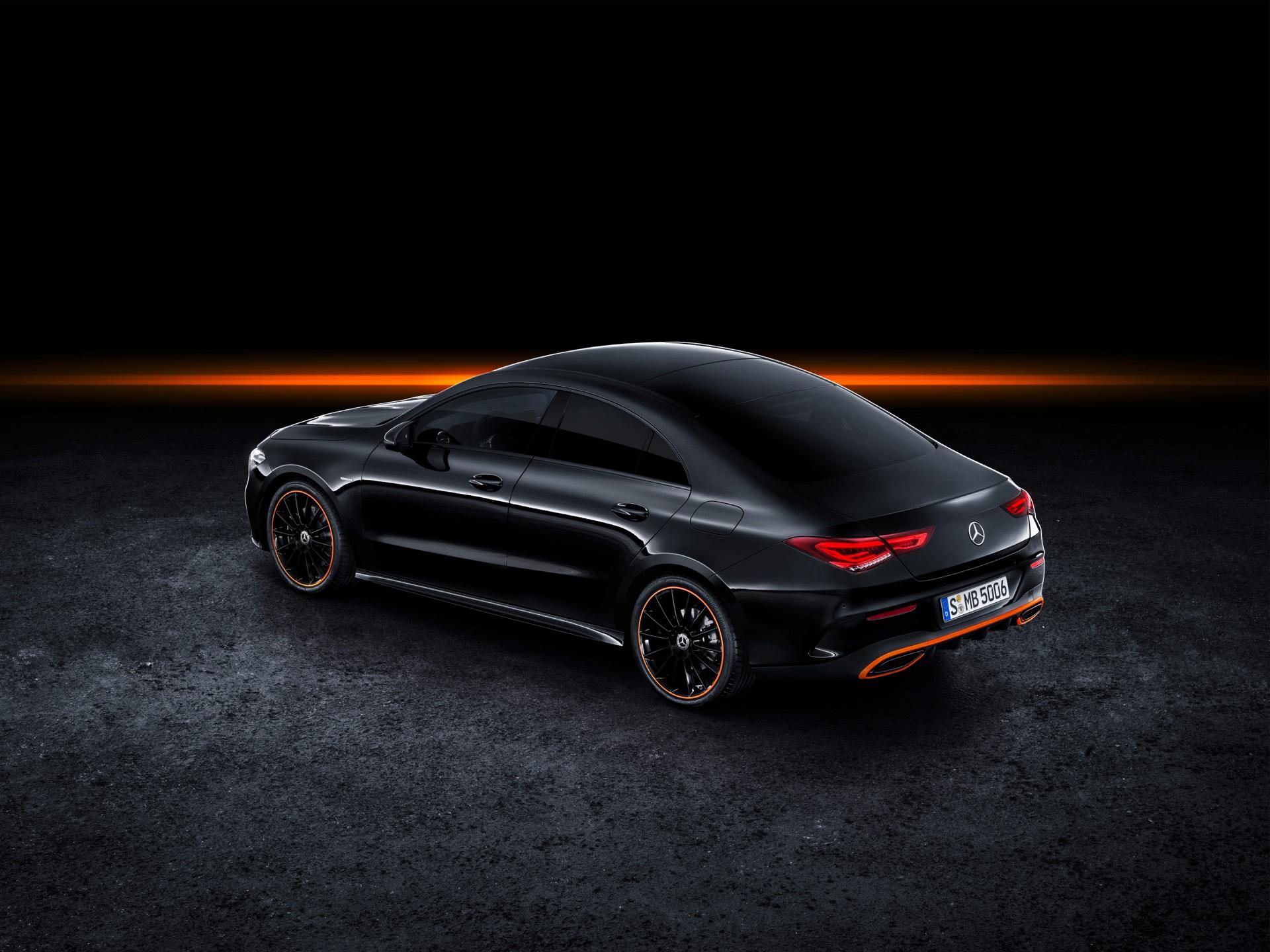 2019 Mercedes-Benz CLA Class Rear Top