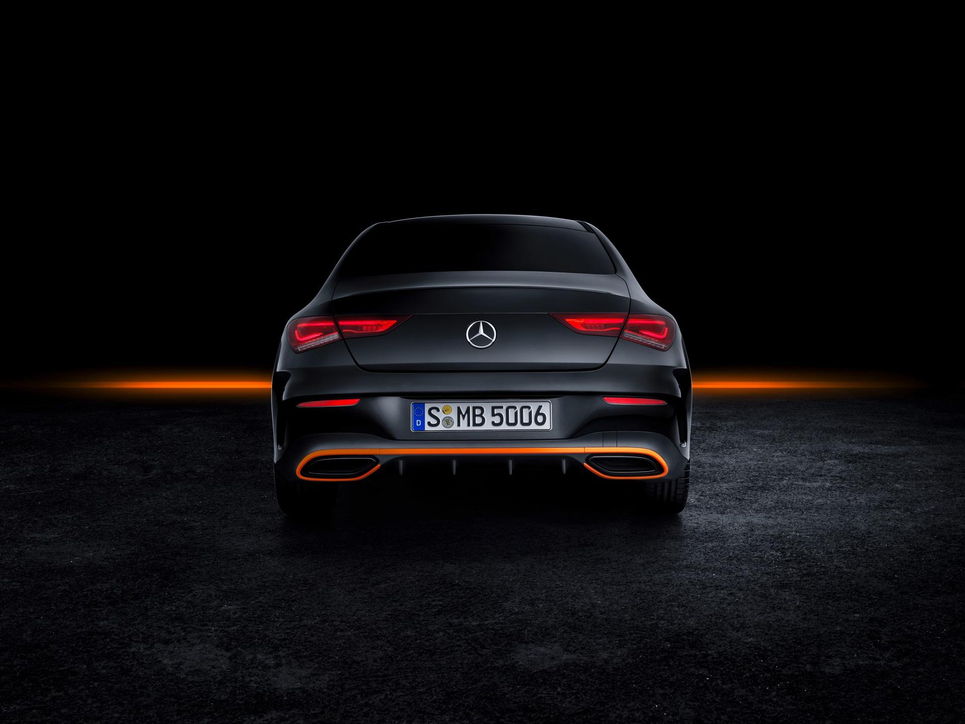 2019 Mercedes-Benz CLA Class Rear