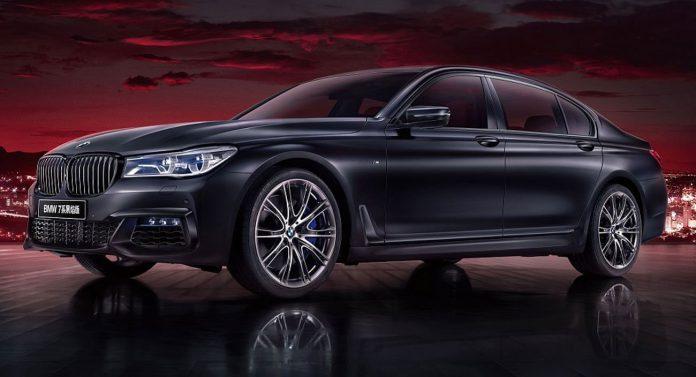 2020 BMW 7 Series Black Fire Edition