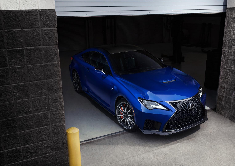 Facelift Lexus RCF