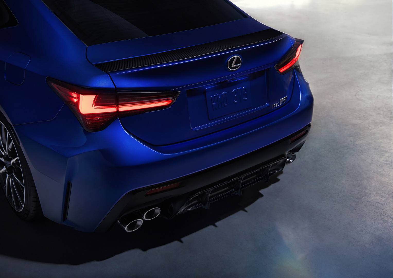 2020 Lexus RC F Rear Lights