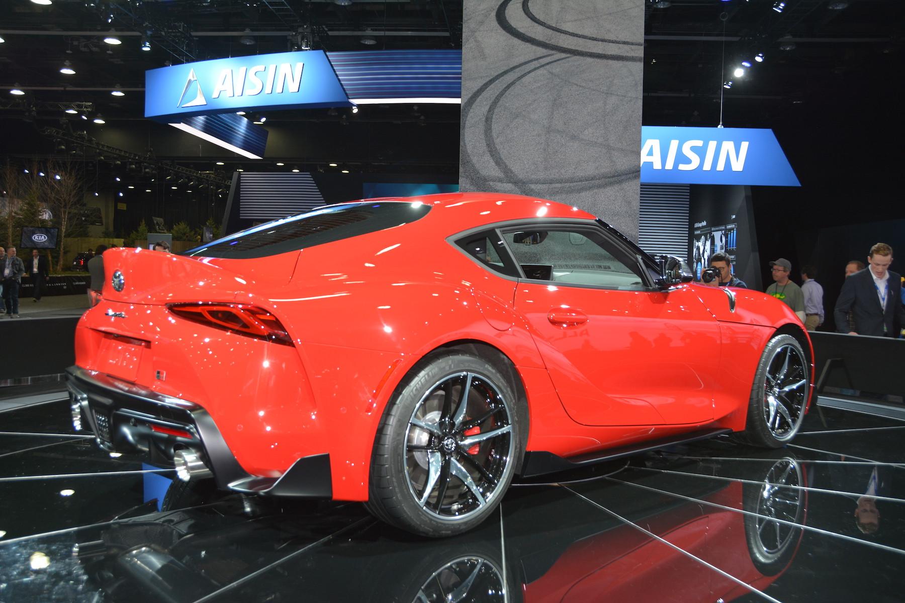 Detroit 2019 Toyota Supra Gtspirit