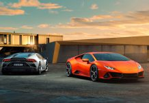 2 Lamborghini Huracan EVO