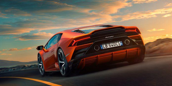 Lamborghini Huracán EVO Rear