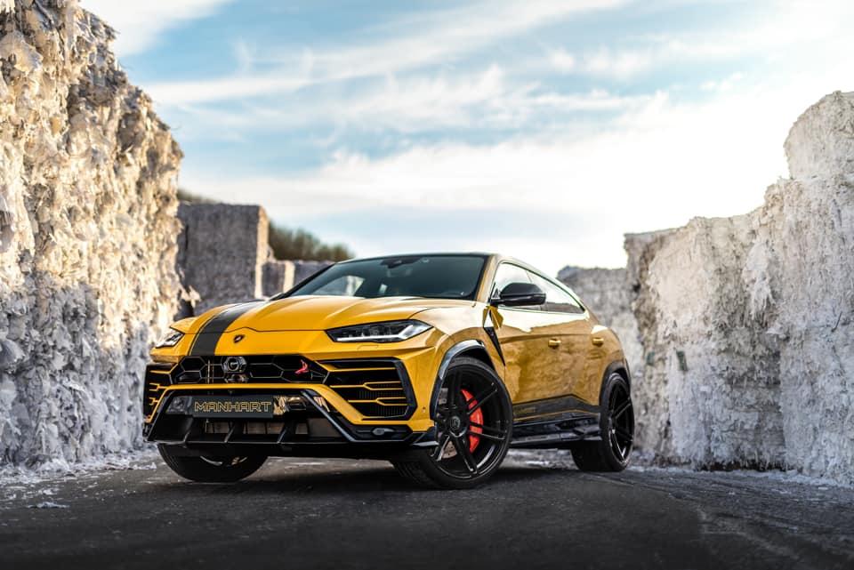 Manhart Reveals 800hp Lamborghini Urus