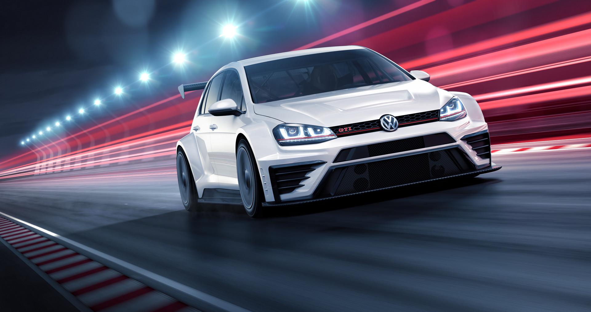 VW GTI TCR Race Car
