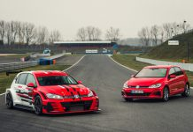 VW GTI TCR Race Car