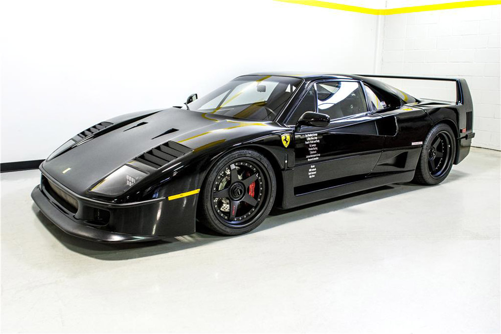 Gas Monkey Ferrari F40 Auctioned by US Marshals